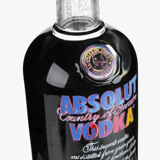 Andy Warhol ABSOLUT Launch